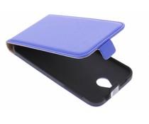 Blauw luxe flipcase HTC Desire 510