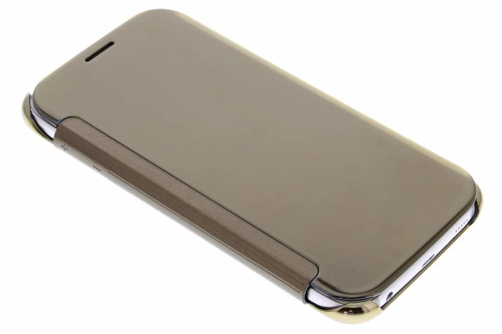 Samsung Samsung Galaxy S6 Clear View Cover Gold (EF-ZG920BFEGWW)