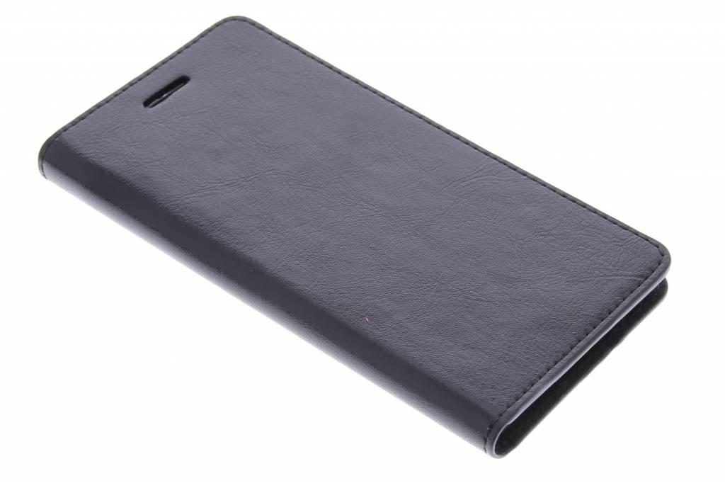 Zwarte zakelijke booktype hoes voor de Huawei P8