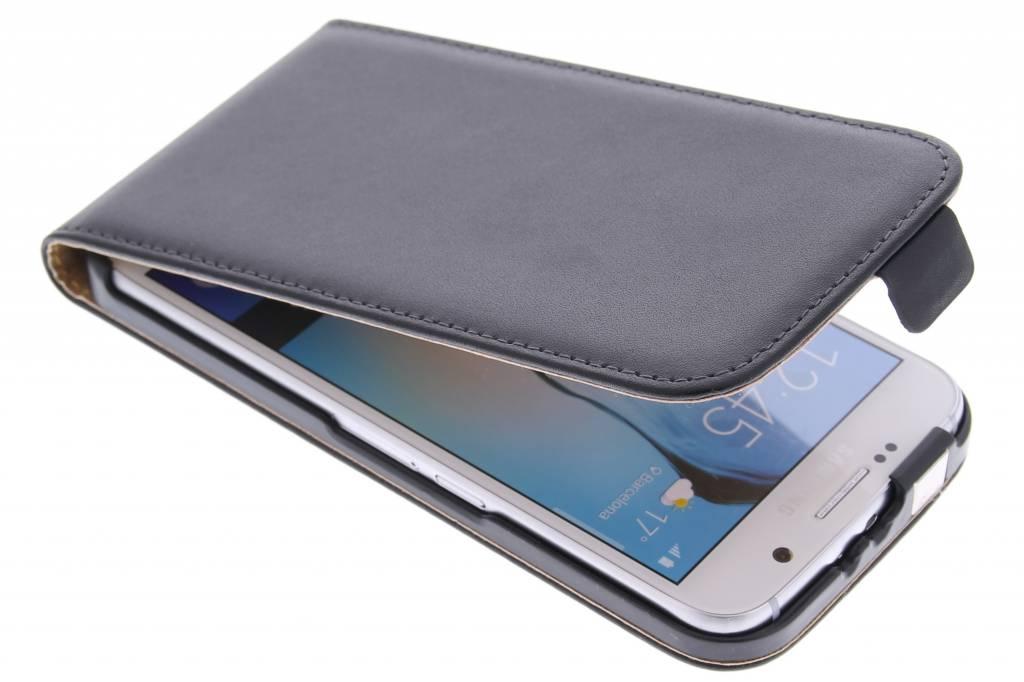 Zwarte luxe flipcase voor de Samsung Galaxy S6