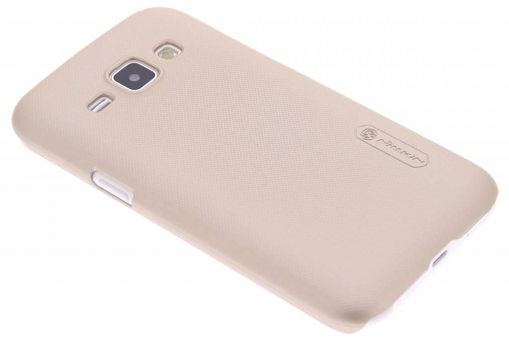 Nillkin Frosted Shield hardcase hoesje voor de Samsung Galaxy J1 - goud