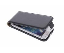 Zwart luxe flipcase Samsung Galaxy S4 Mini