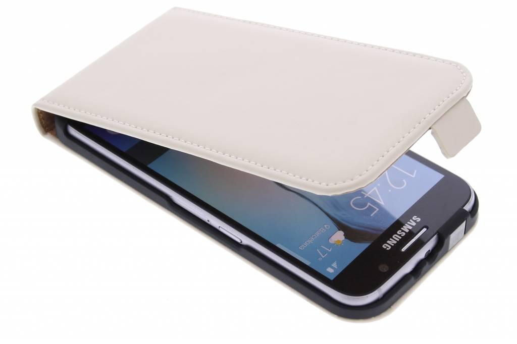 Selencia Luxe Flipcase flipcase voor de Samsung Galaxy S6 - Gebroken wit
