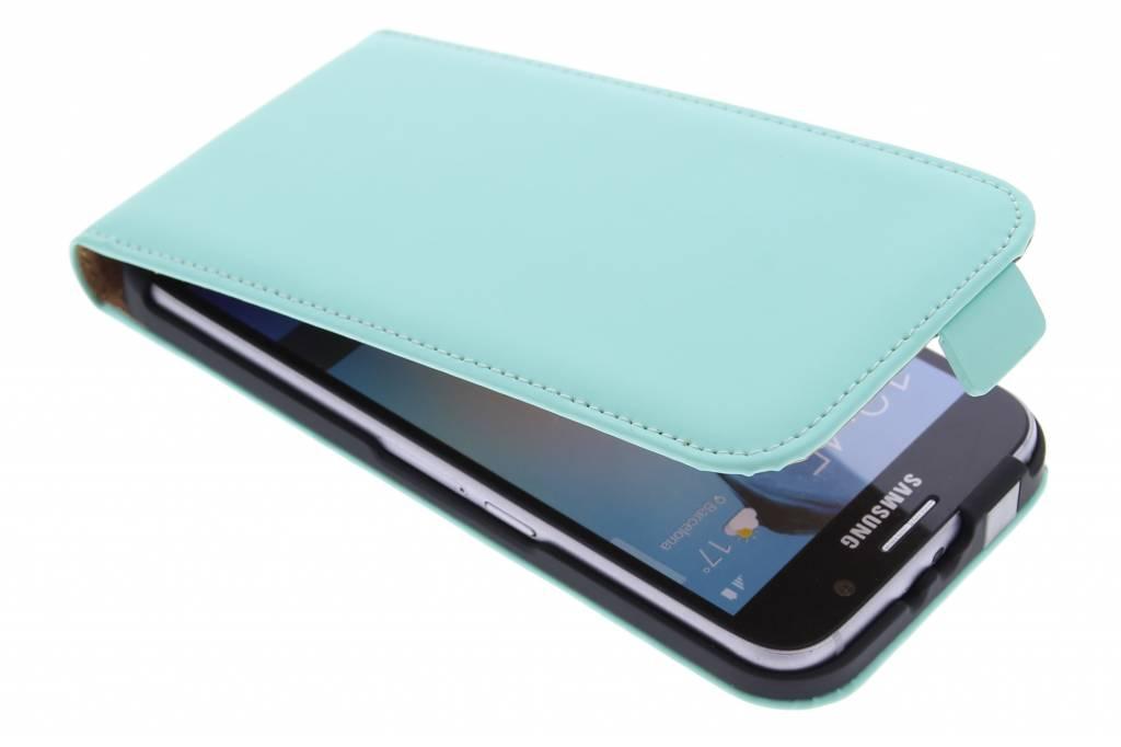 Luxe Flipcase flipcase voor de Samsung Galaxy S6 - Mintgroen