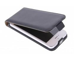 Selencia Luxe Flipcase iPhone 5 / 5s / SE - Zwart