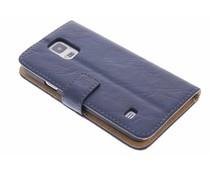 Kreukelleder booktype Galaxy S5 (Plus) / Neo