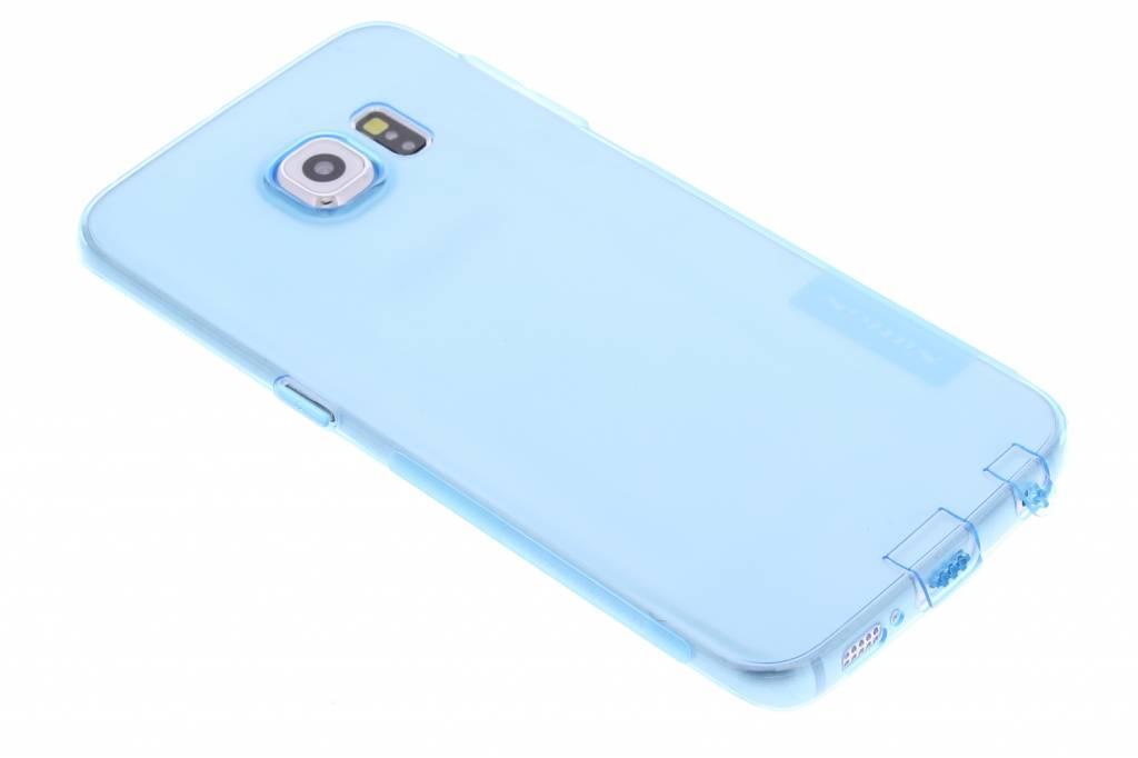 Nillkin Nature TPU case voor de Samsung Galaxy S6 Edge - blauw
