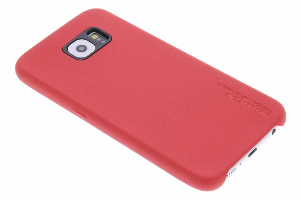 Nillkin Victoria leather hardcase hoesje voor de Samsung Galaxy S6 - rood