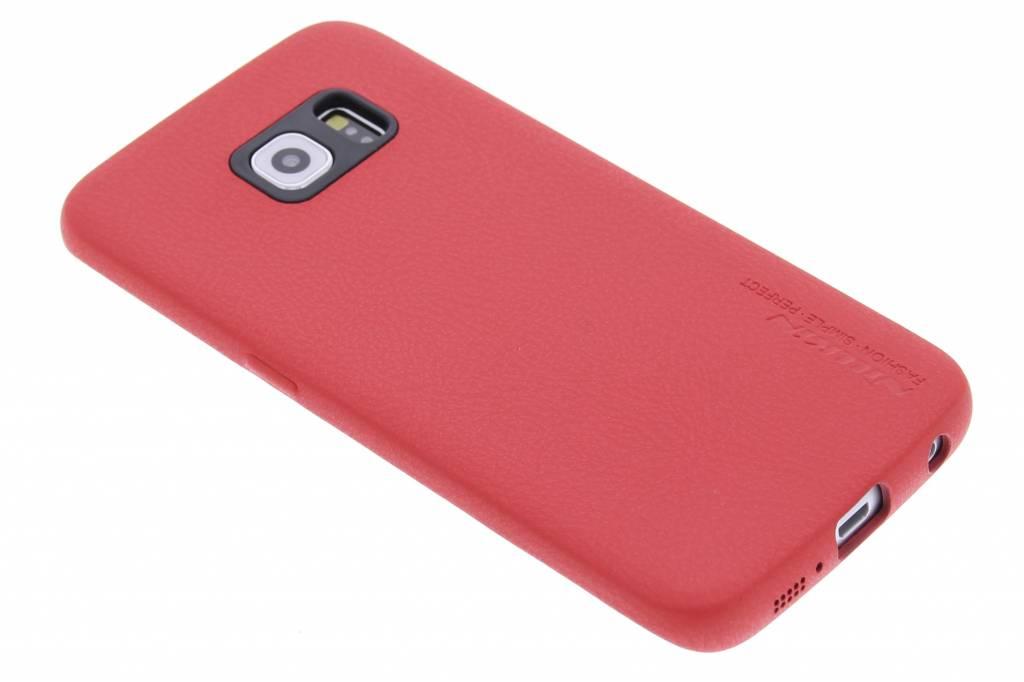 Nillkin Victoria leahter hardcase hoesje voor de Samsung Galaxy S6 Edge - rood