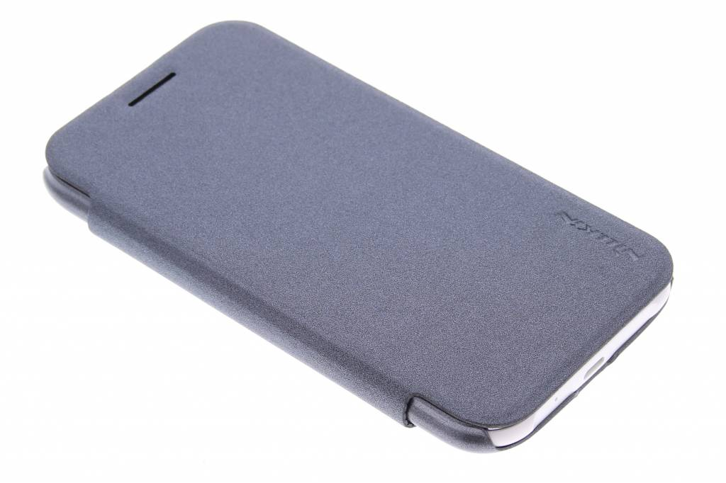 Nillkin Sparkle slim booktype hoes voor de Samsung Galaxy J1 - Zwart