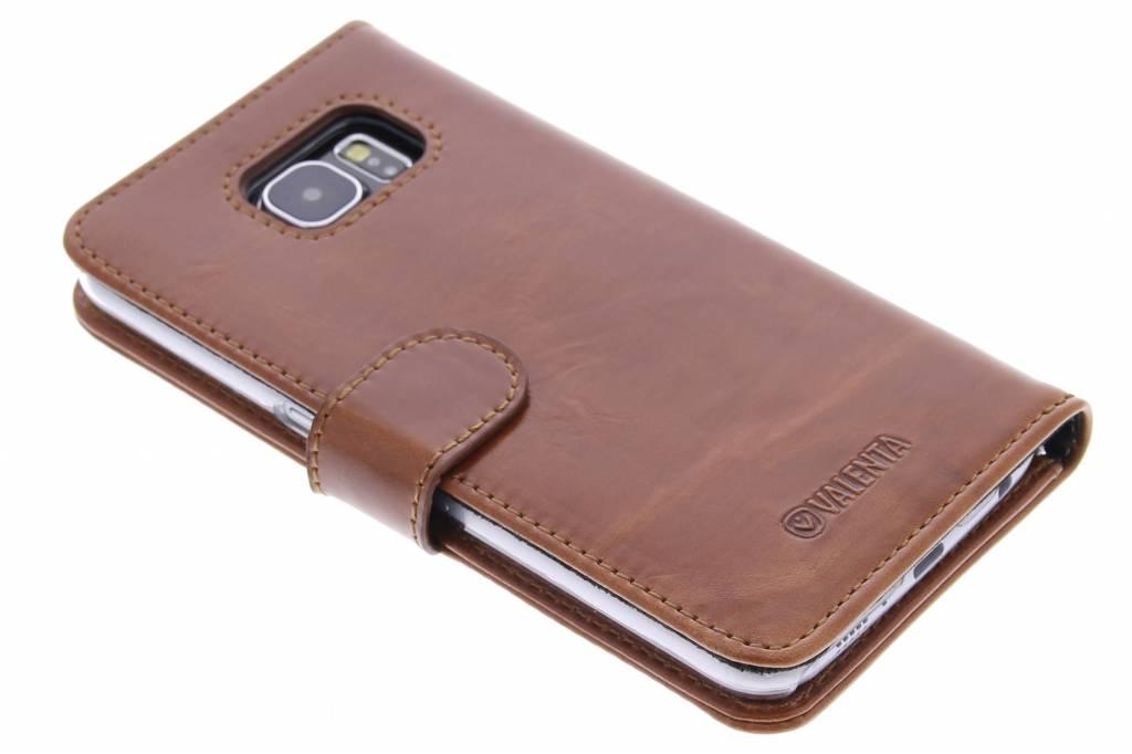 Valenta Booklet Classic Luxe voor de Samsung Galaxy S6 - Brown