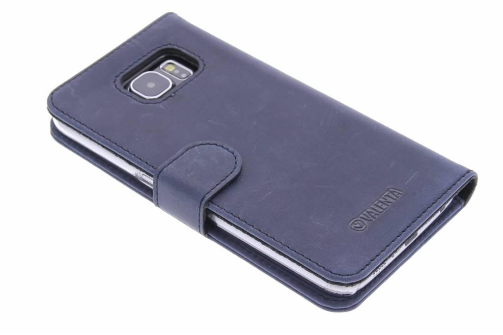 Valenta Booklet Classic Luxe voor de Samsung Galaxy S6 - Vintage Blue