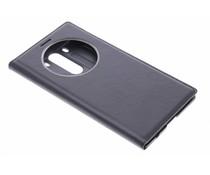 Zwart luxe flipcover met venster LG G3