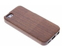 Echt houten hardcase hoesje iPhone 5c