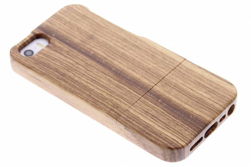 Echt houten hoesje voor de iPhone 5-5s-SE