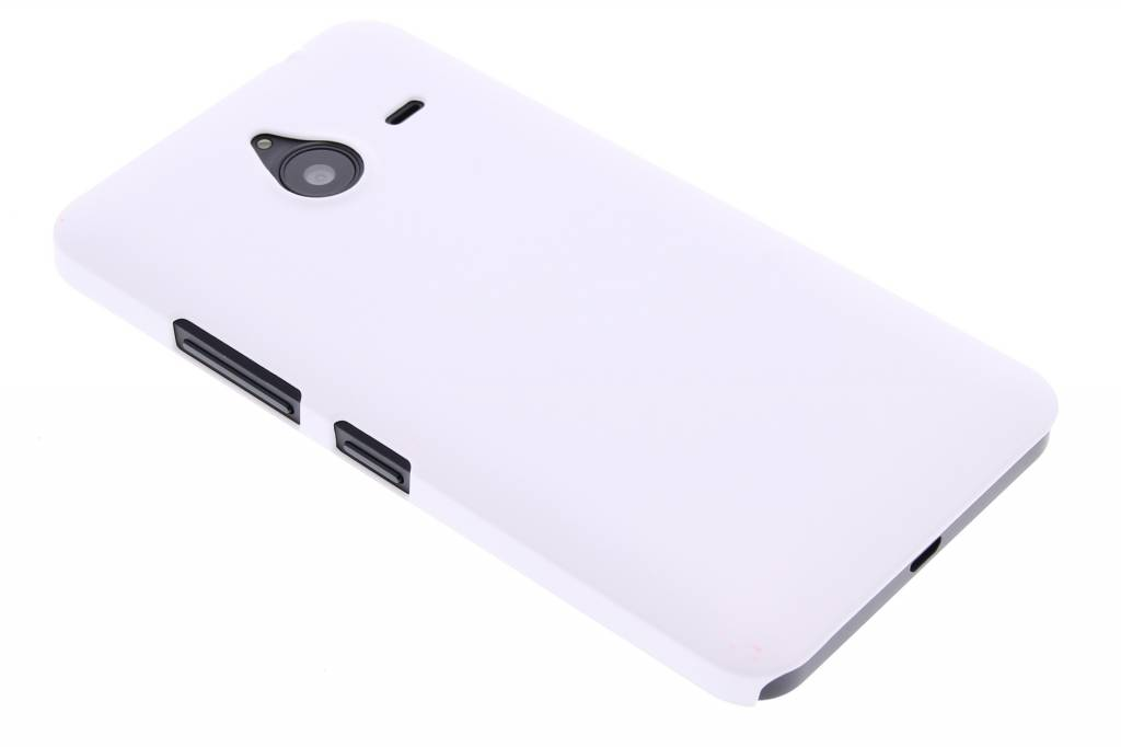 Wit effen hardcase hoesje voor de Microsoft Lumia 640 XL