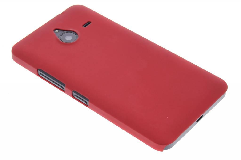 Rood effen hardcase hoesje voor de Microsoft Lumia 640 XL