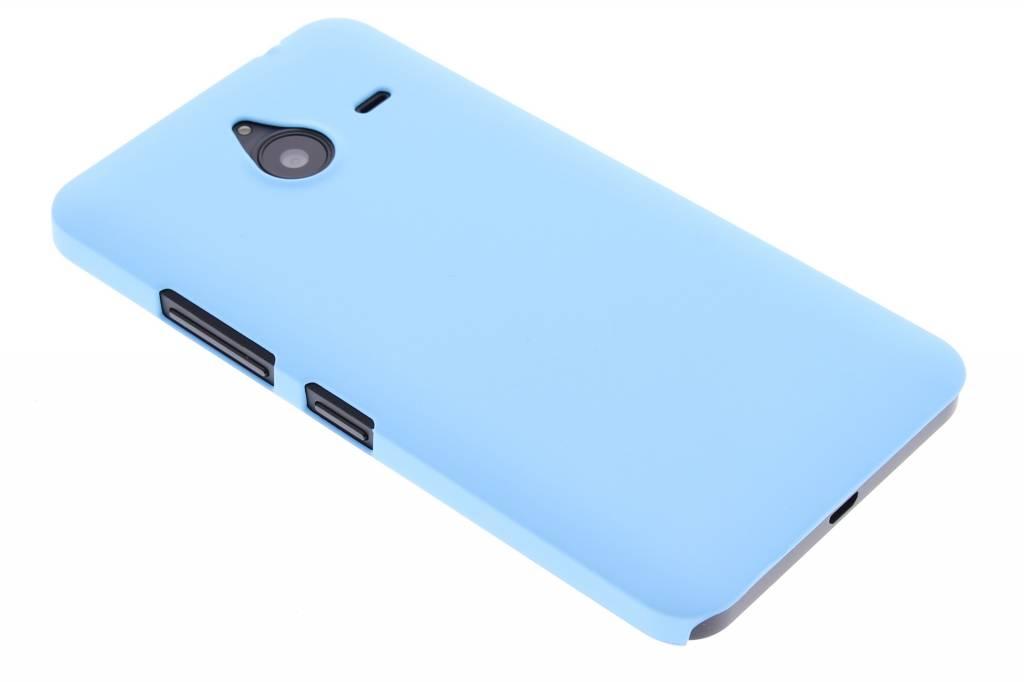 Turquoise effen hardcase hoesje voor de Microsoft Lumia 640 XL