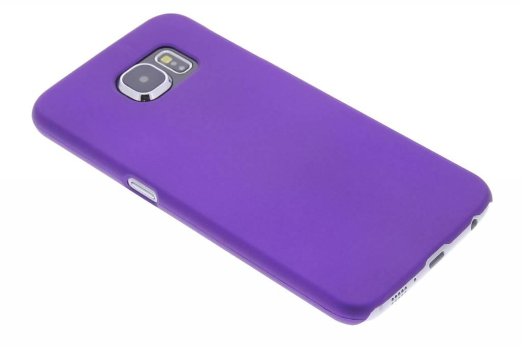 Paars effen hardcase hoesje voor de Samsung Galaxy S6