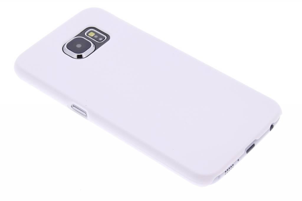 Wit effen hardcase hoesje voor de Samsung Galaxy S6