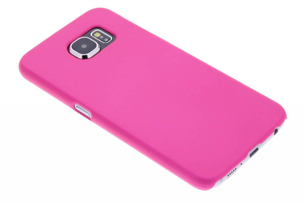 Fuchsia effen hardcase hoesje voor de Samsung Galaxy S6