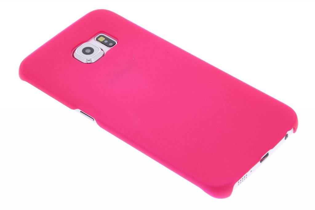Fuchsia effen hardcase hoesje voor de Samsung Galaxy S6 Edge