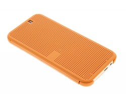 Oranje Dot-Cover hoes HTC One M9