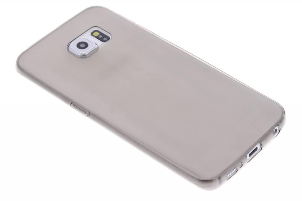 Grijs ultra thin transparant TPU hoesje voor de Samsung Galaxy S6 Edge