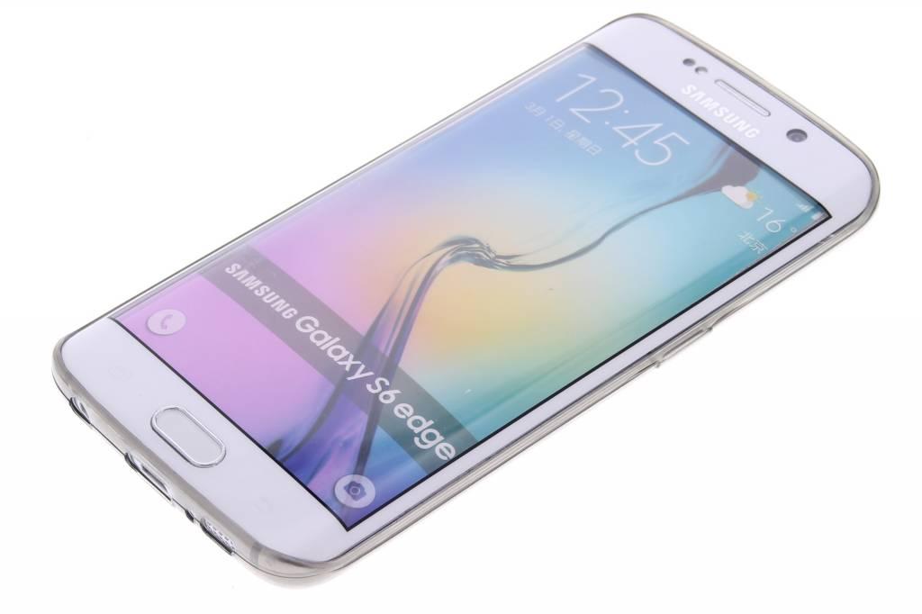 Gris Ultra Mince Cas De Tpu Transparent Pour Le Bord De Galaxie Samsung Ym2kRg4OS