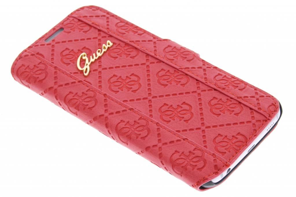 Guess Scarlett Folio Case voor de Samsung Galaxy S6 - rood