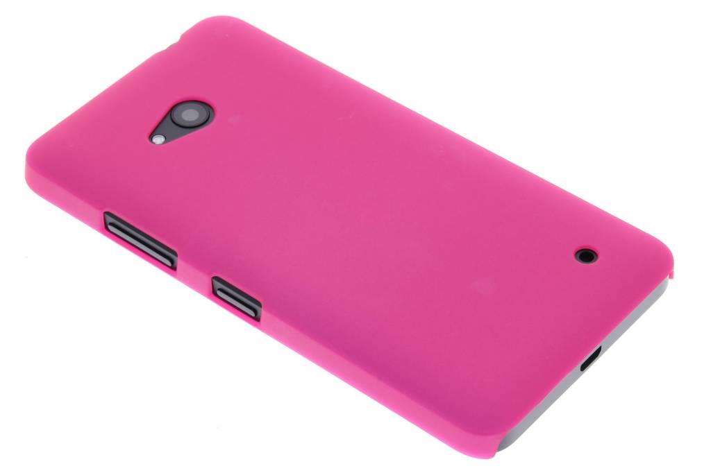 Fuchsia effen hardcase hoesje voor de Microsoft Lumia 640