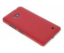 Rood effen hardcase Microsoft Lumia 640