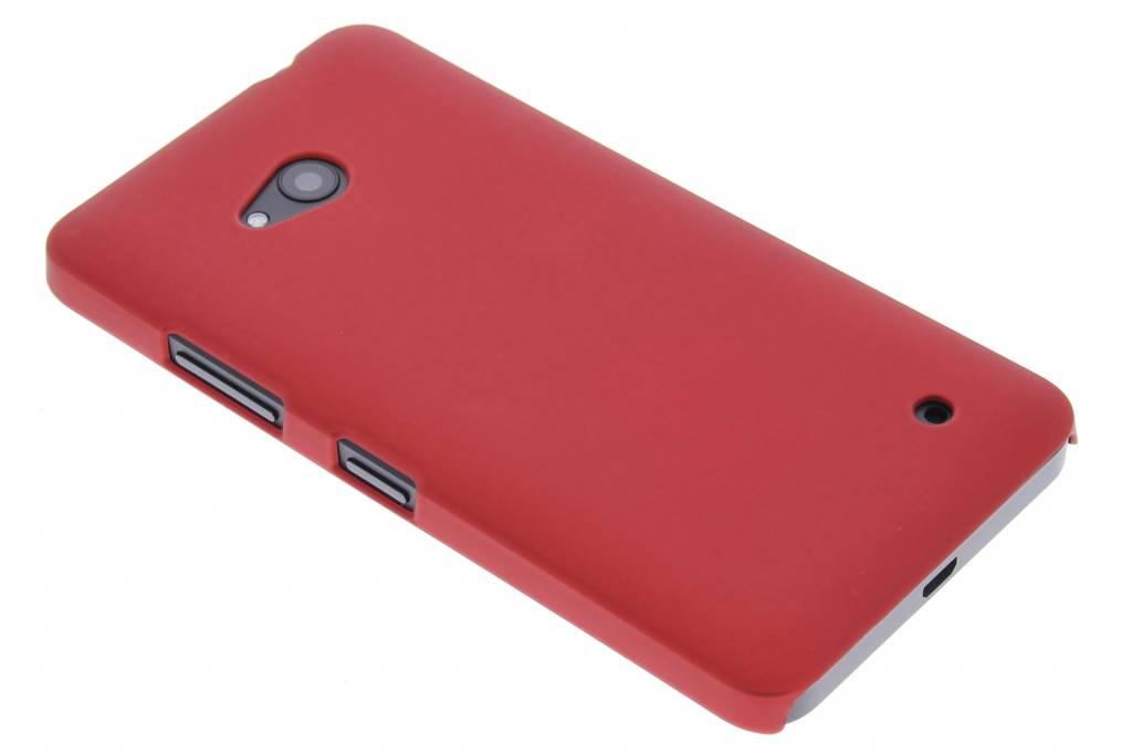 Rood effen hardcase hoesje voor de Microsoft Lumia 640