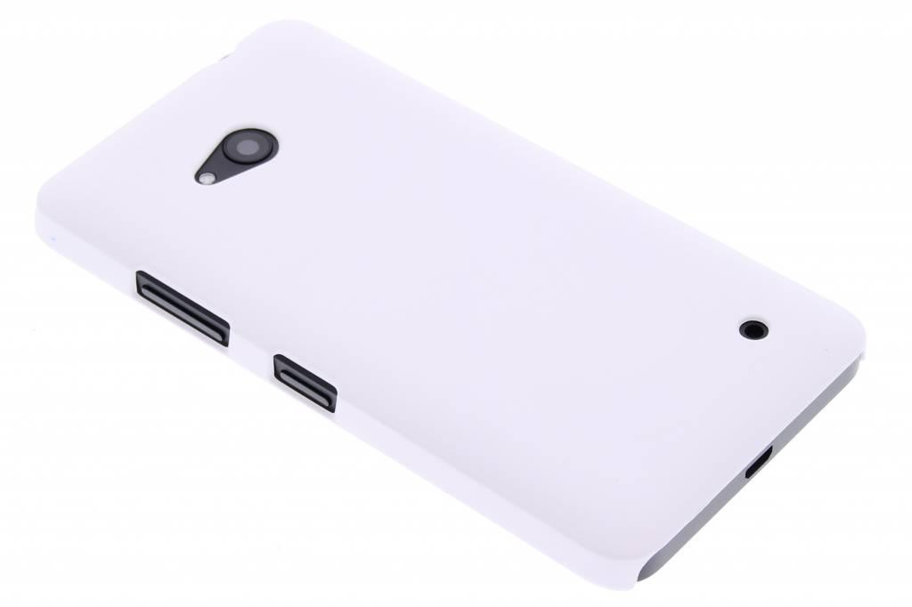 Wit effen hardcase hoesje voor de Microsoft Lumia 640