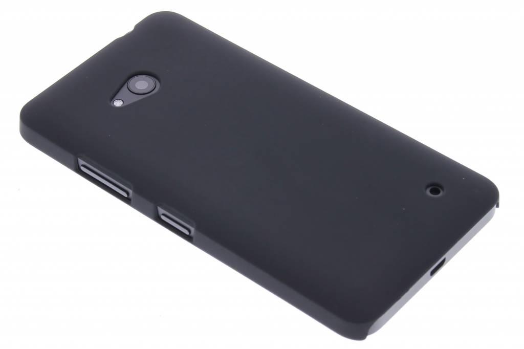 Zwart effen hardcase hoesje voor de Microsoft Lumia 640
