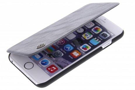 Qin Smart Type De Livre En Cuir Pour Bord Samsung Galaxy S - Brun CYeyta0
