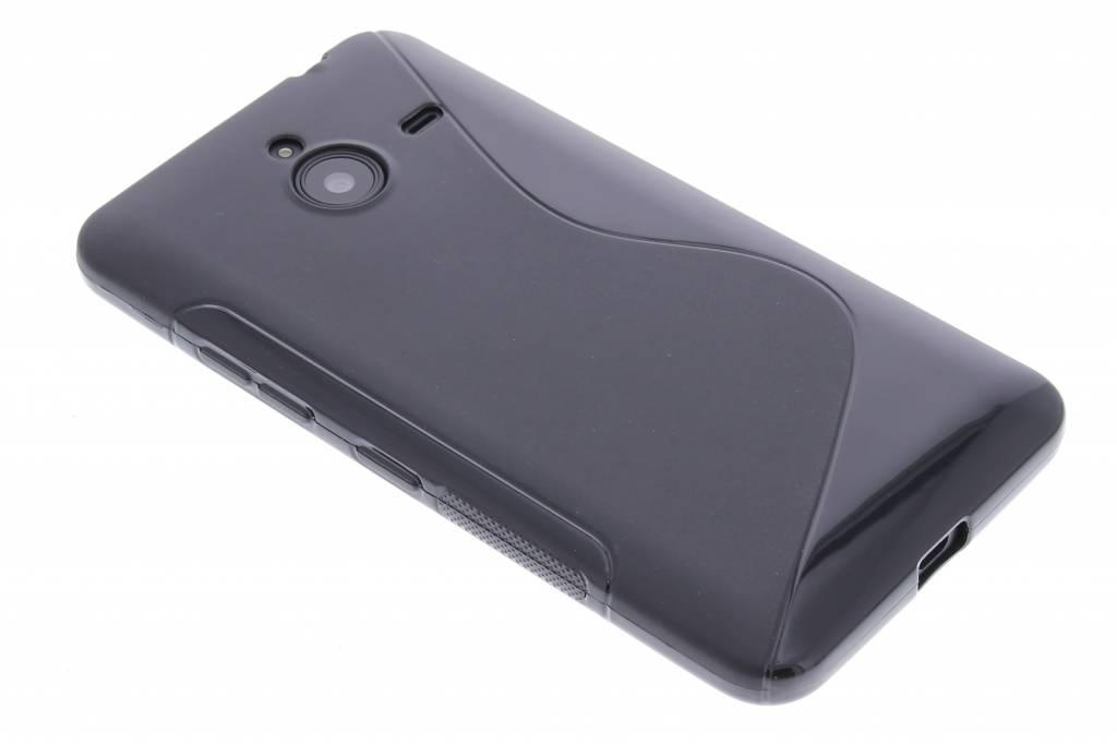 Zwart S-line TPU hoesje voor de Microsoft Lumia 640 XL