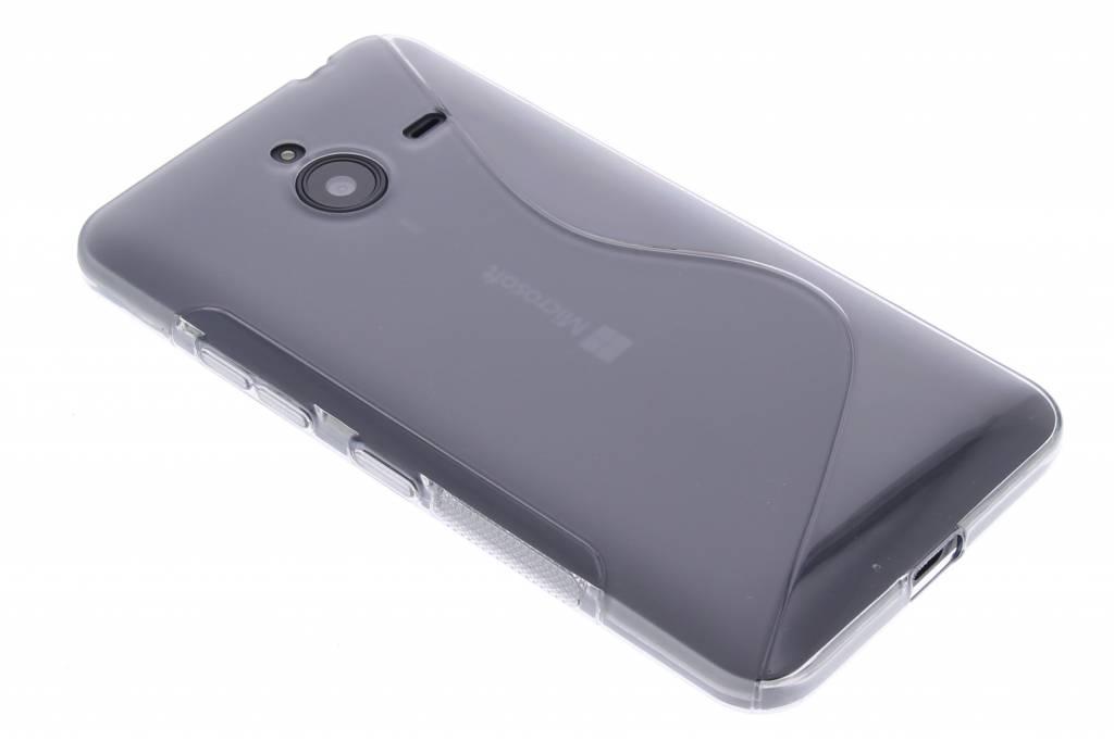 Grijs S-line TPU hoesje voor de Microsoft Lumia 640 XL