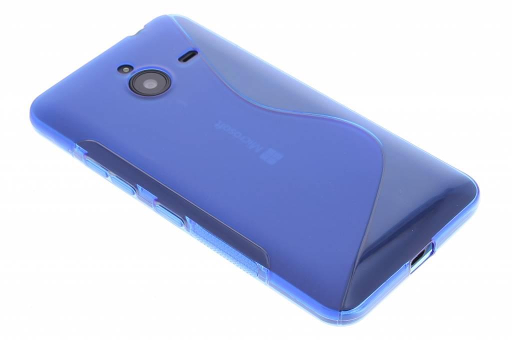 Blauw S-line TPU hoesje voor de Microsoft Lumia 640 XL