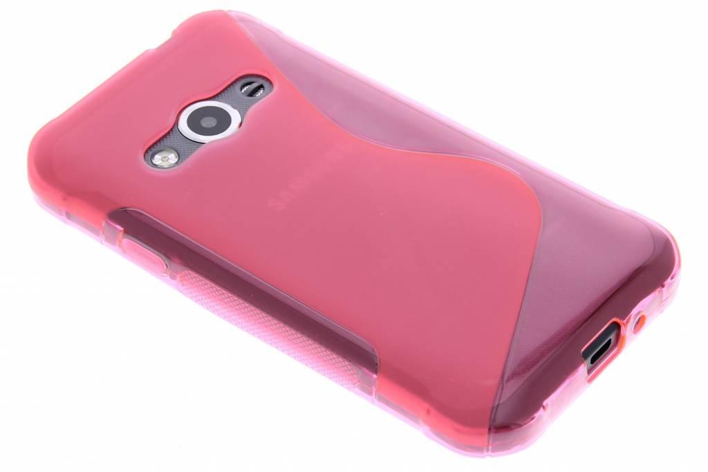 Rosé S-line TPU hoesje voor de Samsung Galaxy Xcover 3