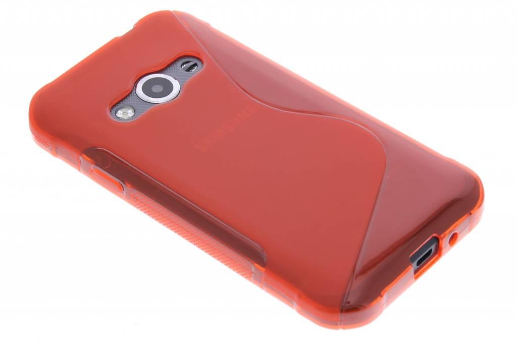 Rood S-line TPU hoesje voor de Samsung Galaxy Xcover 3