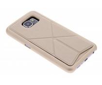 Goud hardcase hoesje met standaard Samsung Galaxy S6