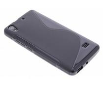 Zwart S-line TPU hoesje Huawei Ascend G620s