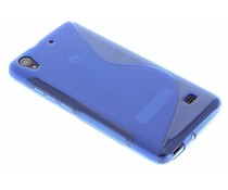 Blauw S-line TPU hoesje Huawei Ascend G620s
