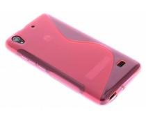 Rosé S-line TPU hoesje Huawei Ascend G620s