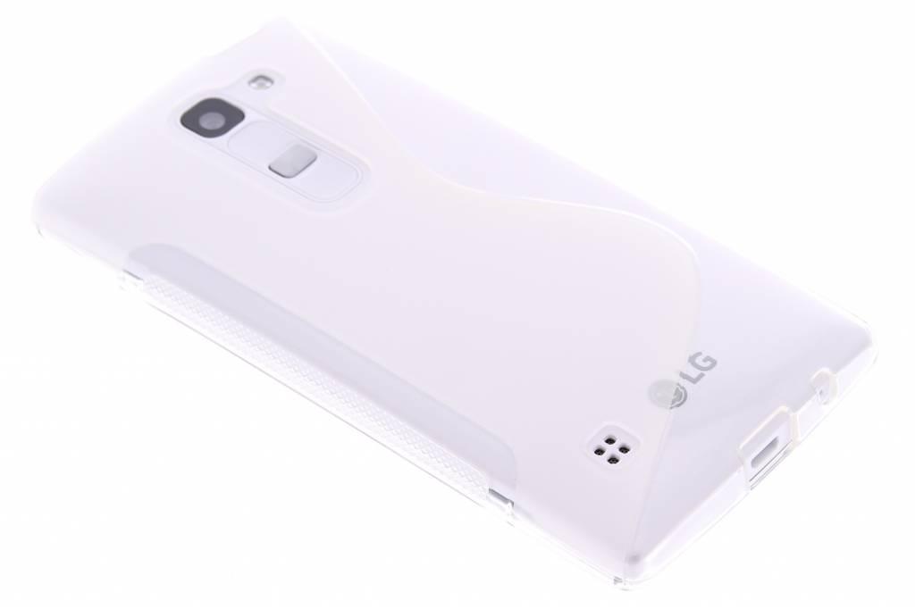 Transparant S-line TPU hoesje voor de LG Spirit