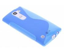 Blauw S-line TPU hoesje LG Spirit