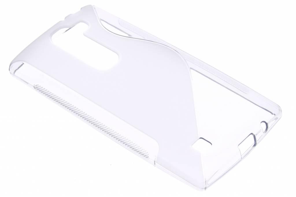 Transparant S-line TPU hoesje voor de LG Magna / G4c