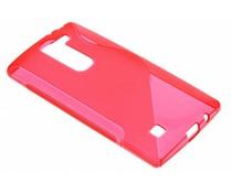 Rood S-line TPU hoesje LG Magna / G4c