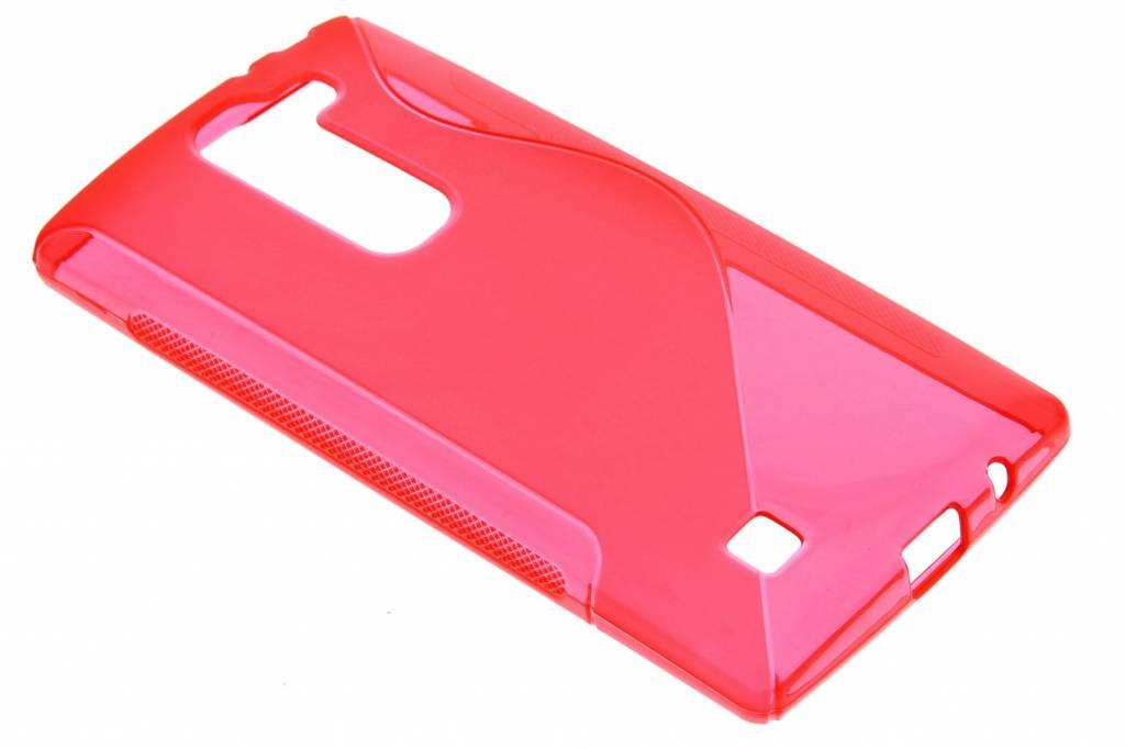 Rood S-line TPU hoesje voor de LG Magna / G4c